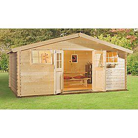 Finnlife Sarka 212 Log Cabin 4.9 x 3.9 x 2.4m