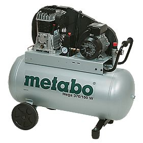 Metabo Mega 370 90Ltr Oil Driven Air Compressor 230V