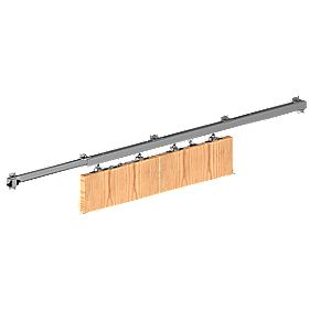 Rothley Herkules 120 Sliding Door Symmetric Kit mm