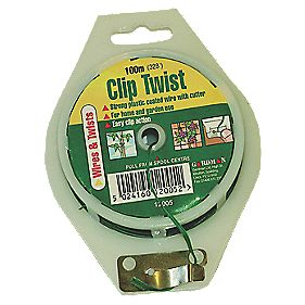 Gardman Clip Twist Wire with Cutter 100m