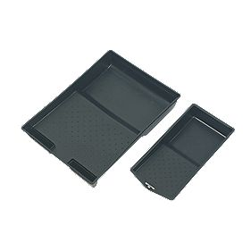 """Harris Paint Trays 9"""" & 4"""" Pack of 2"""