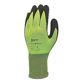 Skytec Theta 5 Cut 5 Nitrile Foam Palm Gloves Green X Large