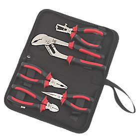 Forge Steel Pliers Set 5Pcs