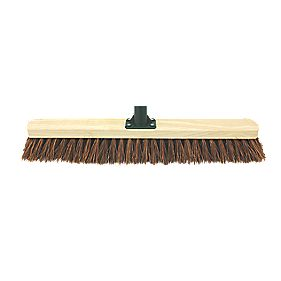 Stiff Broom Head & Bracket 24""