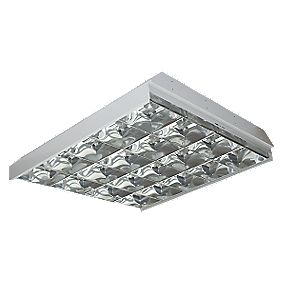 Fluorescent Recessed Modular Fitting High Frequency 4 x 18W