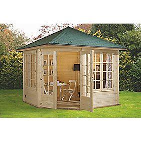 Finnlife Valo 212 Log Cabin 2.7 x 2.7 x 3m