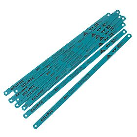 Eclipse +30 Hacksaw Blades 32Tpi 300mm Pack of 10