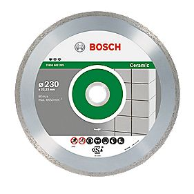 Bosch Ceramic Diamond Tile Blade 115mm x 22.23
