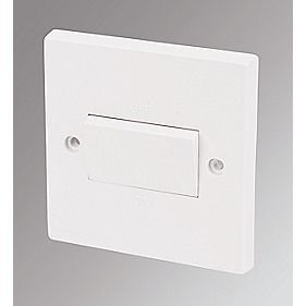 Marbo 10A 3-Pole Fan Isolator Switch White