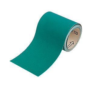 Oakey Liberty Green Sanding Roll 115mm x 5m 80 Grit