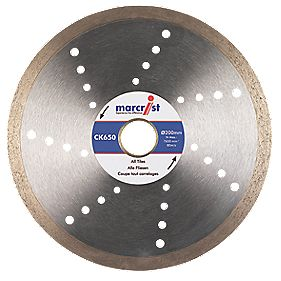 Marcrist CK650 Tile Cutting Diamond Blade 200 x 25.4mm