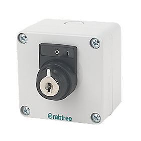 Crabtree Key Switch Control Gear
