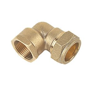 Female Elbow 22mm x ¾""
