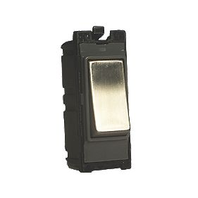 Varilight Z2DG103SS 10A Intermediate Switch Metal