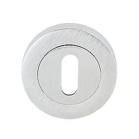 Jedo Escutcheon Satin Satin Chrome 50mm