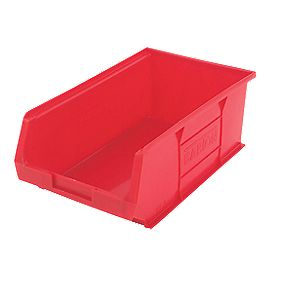 Red Containers 350 x 205 x 132mm Pack of 10