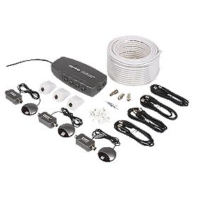 4 Room Digital TV Distribution Kit with Infra Red Link