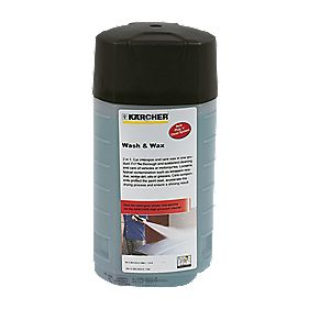 Karcher Plug & Clean Wash & Wax Detergent 1Ltr