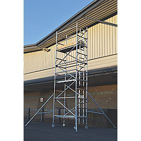 Lyte SF18NW47 Helix Narrow Width Industrial Tower 4.7m