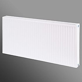 Flomasta Type 22 Double Panel Double Convector Radiator White 600 x 1200mm