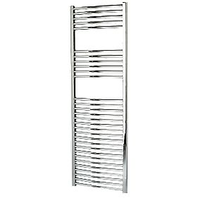 Kudox Curved Towel Radiator Chrome 500 x 1500mm 458W 1563Btu