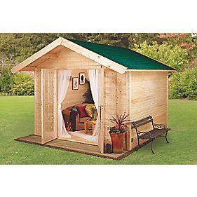 Finnlife Ensi 212 Log Cabin 3 x 3 x 2.6m
