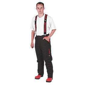 """B and Q Chainsaw Trousers L """" (cm) Leg 36-38"""" (91-97cm) Waist"""