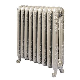 Cast Iron Normandie 650 Designer Radiator Bronze H: 650 x W: 707mm