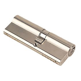 Yale KM Series Euro Double Cylinder Lock 40-50 (90mm) Satin Nickel