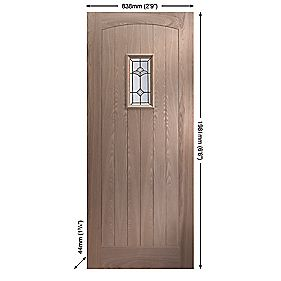 Jeld-Wen Sheff Croft External Door Unfinished 838 x 1981mm