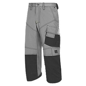 """Snickers Pirate Shorts Grey / Black 38"""" W"""