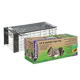 Defenders Rat & Squirrel Cage Trap 400 x 160 x 160mm