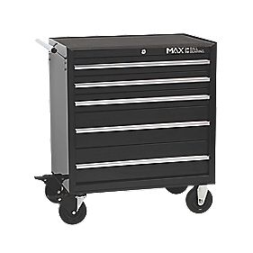 Hilka Pro-Craft 5 Drawer Roll Away Cabinet
