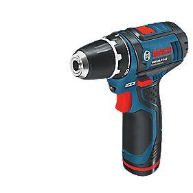 Bosch GSR 10.8-2-Li 10.8V 1.3Ah Li-Ion Cordless Drill Driver with L-Boxx