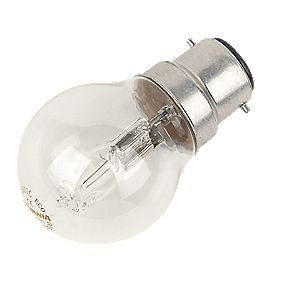 Sylvania Halogen Eco Ball Lamp BC 42W