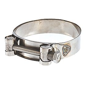 """T-mex All-Stainless Steel Suction Hose Clamp 1"""" Pieces"""