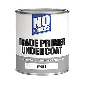 No Nonsense Quick-Drying Primer Undercoat White 750ml