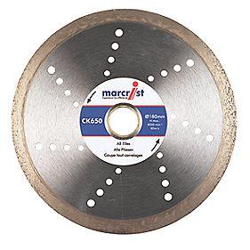 Marcrist CK650 Tile Cutting Diamond Blade 180 x 22.23mm