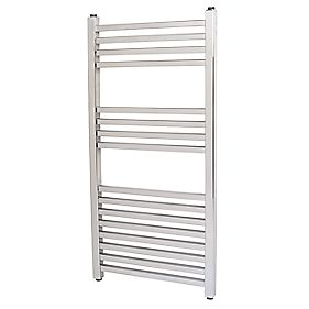 Kudox Cadiz Designer Towel Radiator Chrome 1000 x 500mm 404W 1378Btu