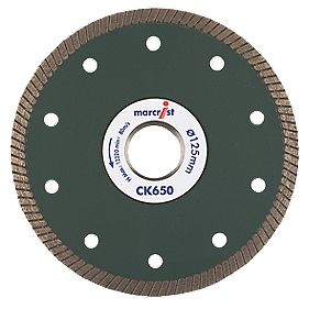 Marcrist CK650 Tile Cutting Diamond Blade 125 x 22.23mm