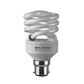 Sylvania Spiral Compact Fluorescent Lamp BC 20W