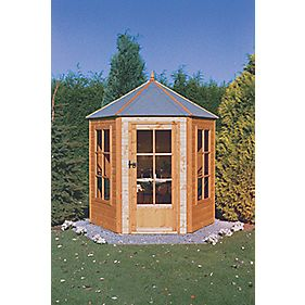 Gazebo Summerhouse 2.1 x 1.8 x 2.4m Assembly Included