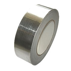 Corotherm Aluminium Sealing Tape Silver 45 x 1000mm