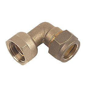 Bent Tap Connector 15mm x ½""