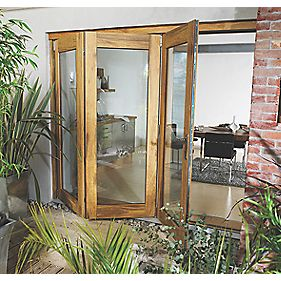 Jeld-Wen Wellington Slide & Fold Patio Door Set Unfinished 1794 x 2094mm