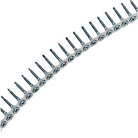 Easydrive Self Drill BZP Drywall Collated 25mm Pack of 1000
