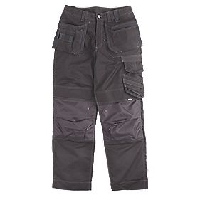 "Scruffs Pro Action Trousers Black 40"" W 33"" L"