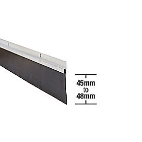 Stormguard Garage Seal Aluminium 2500mm