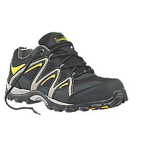 Sterling Steel SS815SM Safety Trainers Grey / Black Size 8