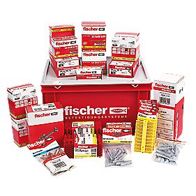 Fischer Essential Electricians Fixing Kit